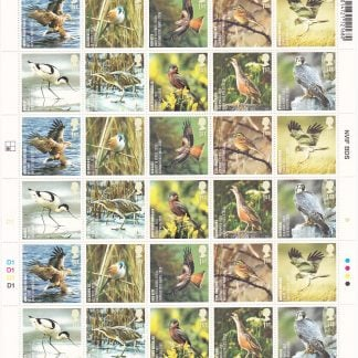 Birds Action for Species 2007 Complete Sheet