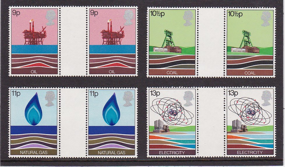 Gutter Pairs Plain Energy Resources 1978