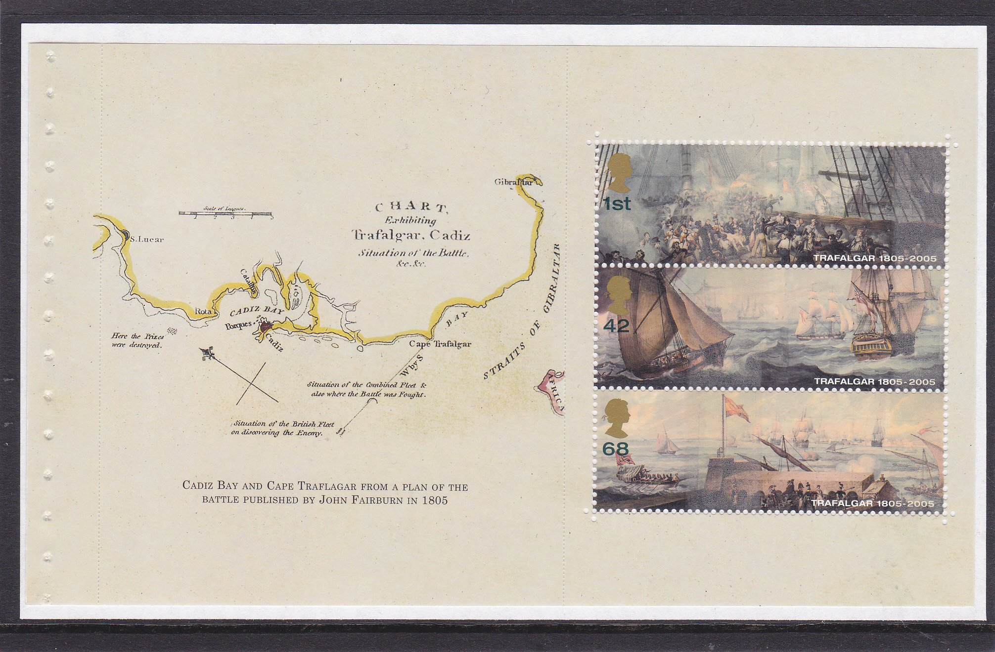 Prestige Pane WP1783 Battle of Trafalgar