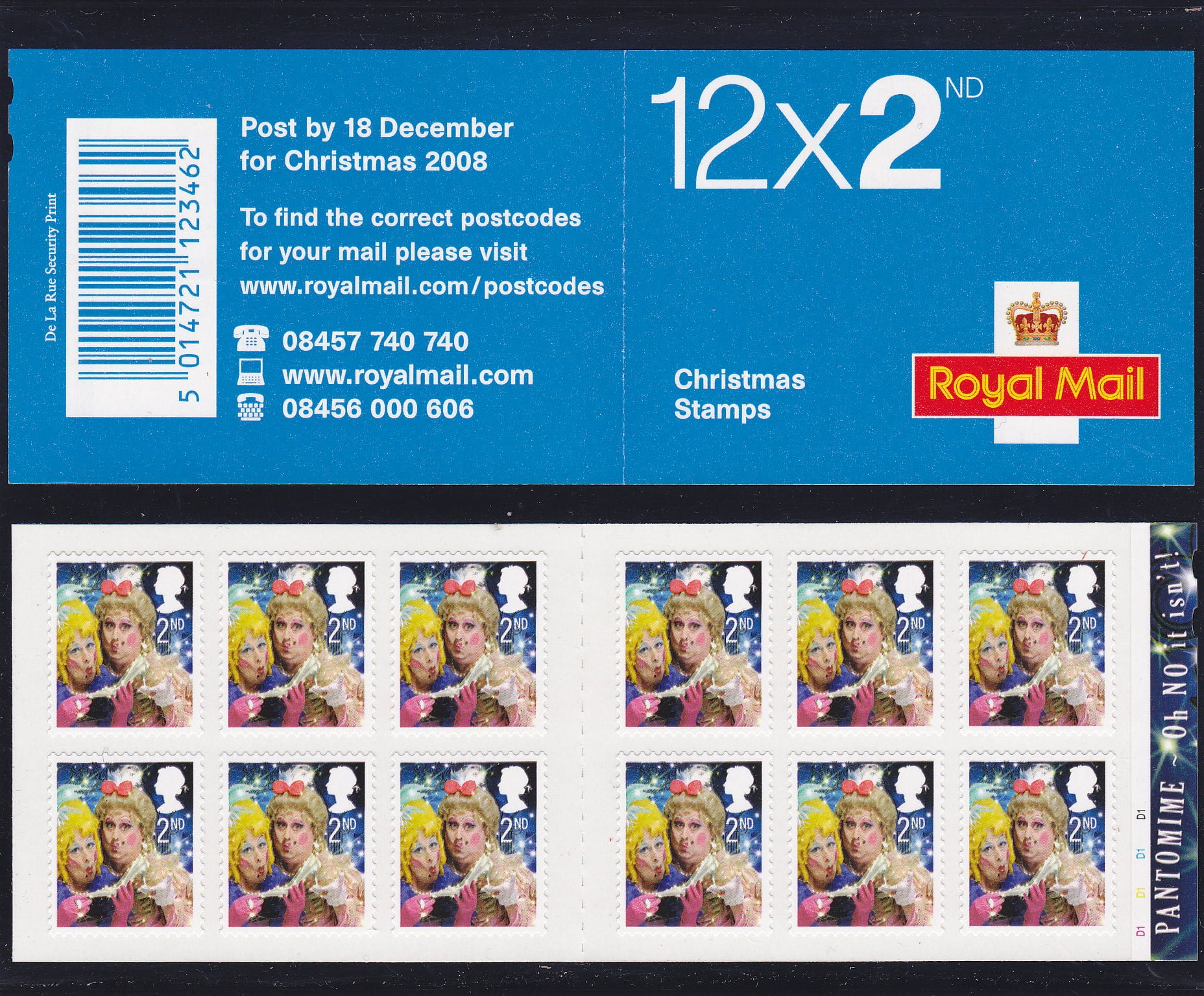 Booklet Christmas LX35 2008 Cylinder