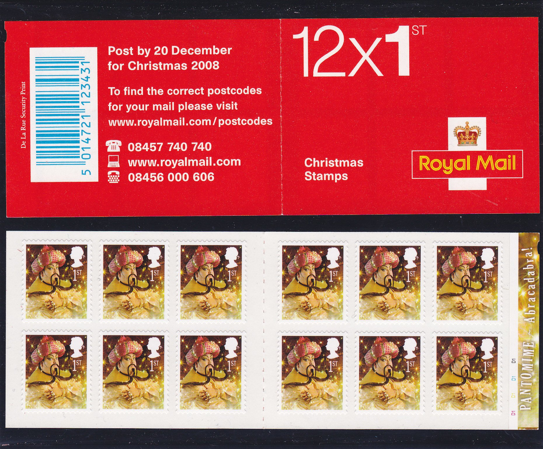 Booklet Christmas LX36 2008 Cylinder