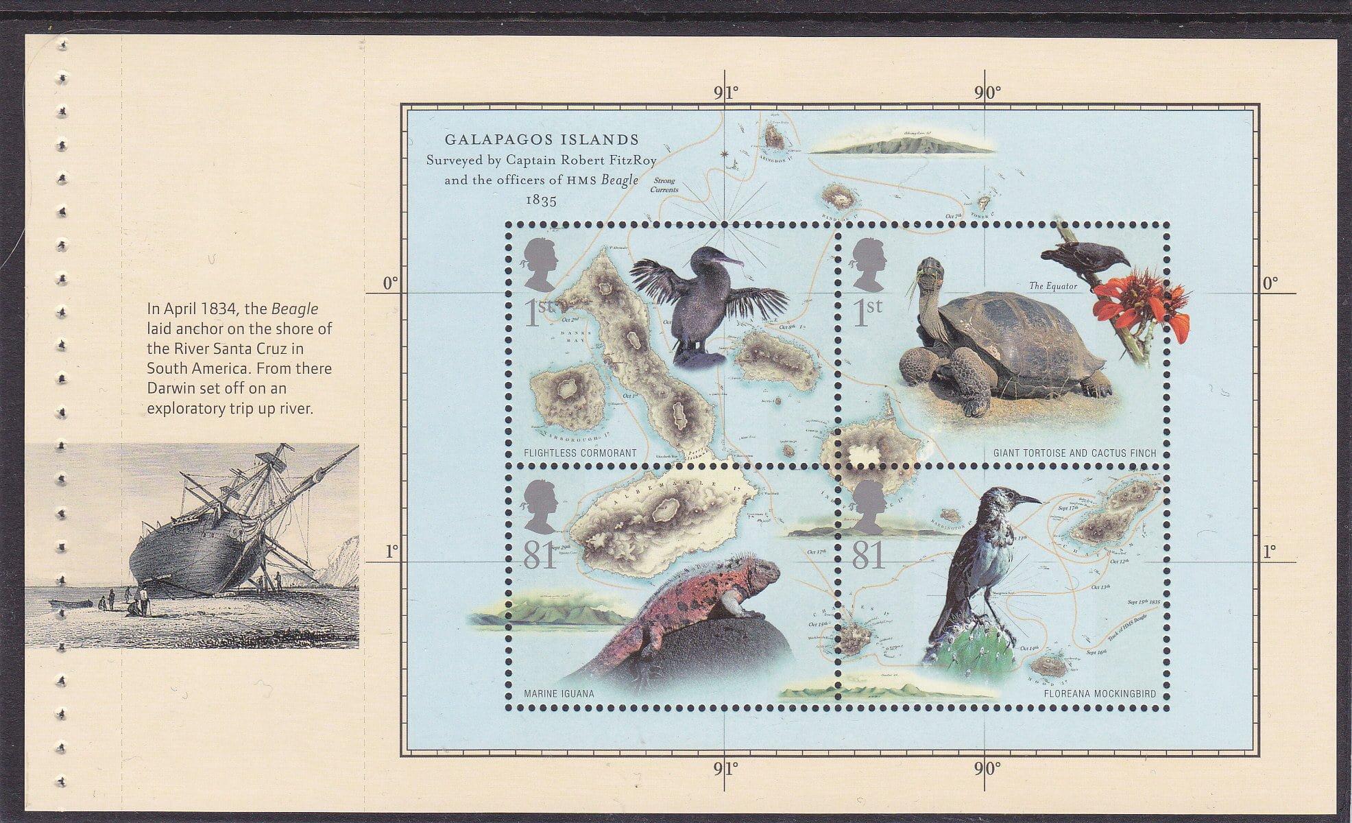 Prestige Pane WP2117 Charles Darwin
