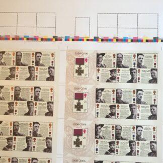 Press Sheet PZ001 Victoria Cross 150th Anniversary