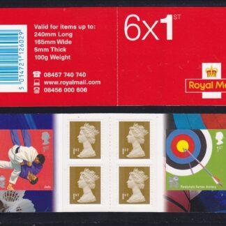 Booklet PM21 Machin Plain Olympics