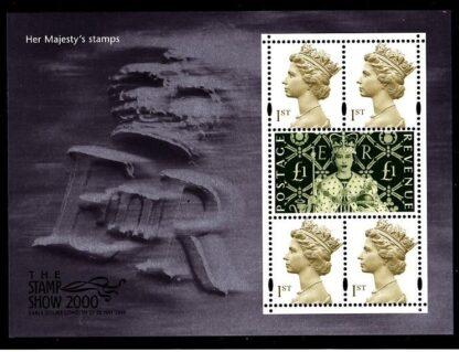 Miniature Sheet MS2147 Stamp Show Mint