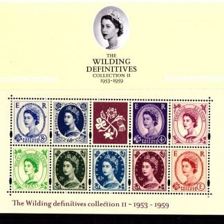 Presentation Pack No 61 The Wilding Definitives 2003