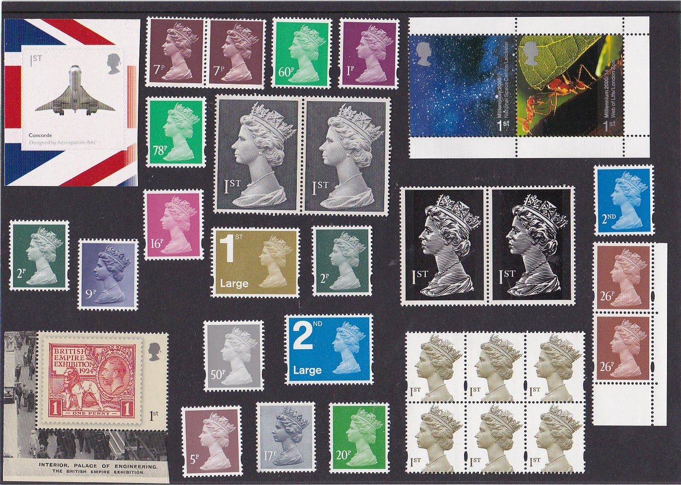 Stamps GB