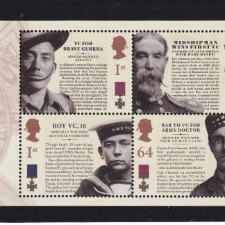 Miniature Sheet MS2665 Victoria Cross