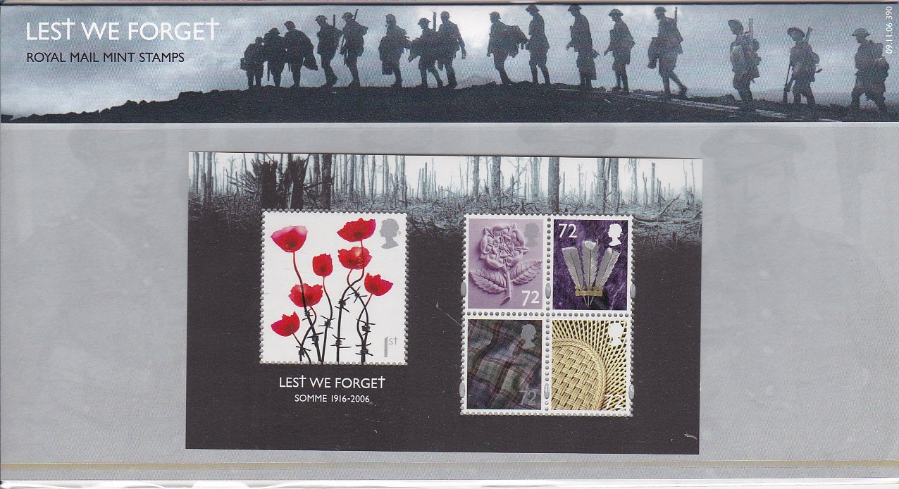 Presentation Pack Lest We Forget 2006