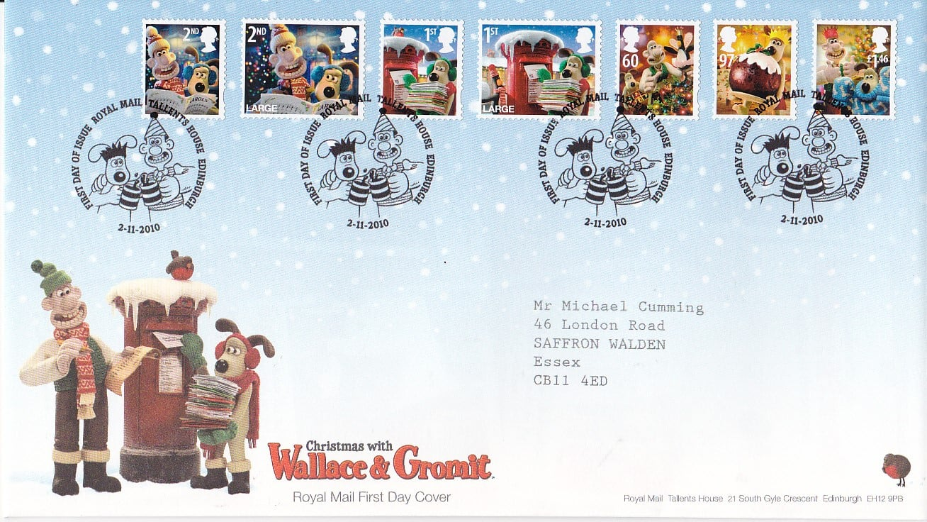 Christmas 2010 First Day Cover