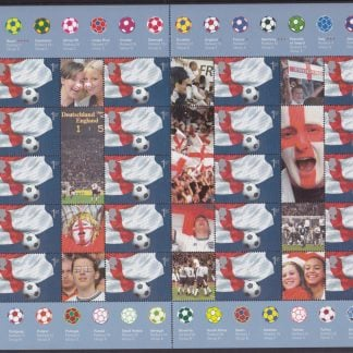 Smilers Sheet LS08 Football World Cup