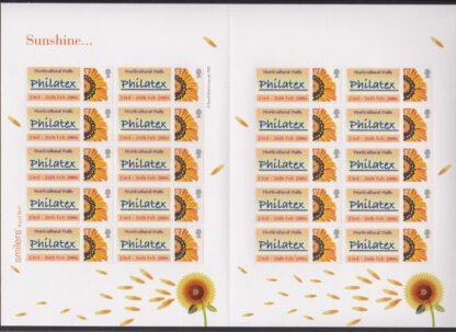 Smilers Sheet TS-038 Philatex Date Error