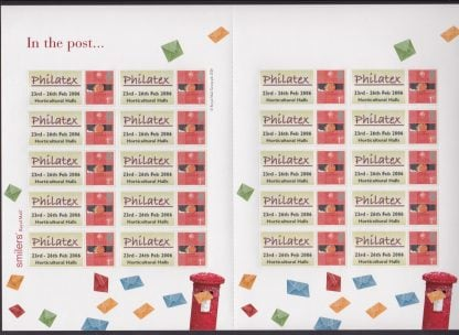 Smilers Sheet TS-039 Philatex Date Error