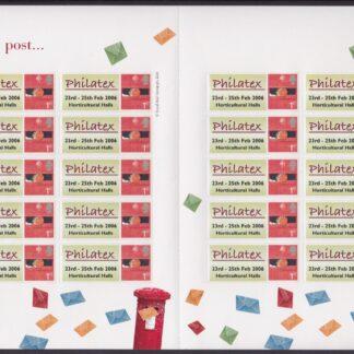 Smilers Sheet TS-041 Philatex Reprint