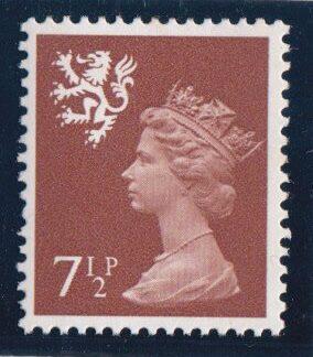 Machin Scotland XS47 7½p Single