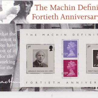 Presentation Pack Machin Definitives 2007