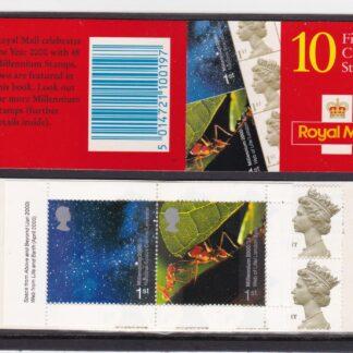 Booklet HBA3 Machin Plain Millennium