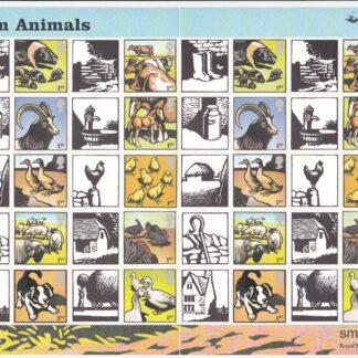 Smilers Sheet LS22 Farm Animals 2005 Royal Mail
