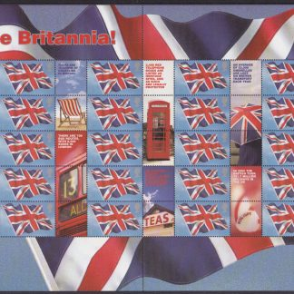 Smilers Sheet LS20 Rule Britannia 2004