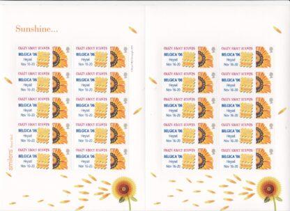 Smilers Sheet TS-050 Belgica 2006