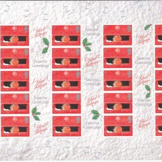 Smilers Sheet LS02 Christmas Post Office