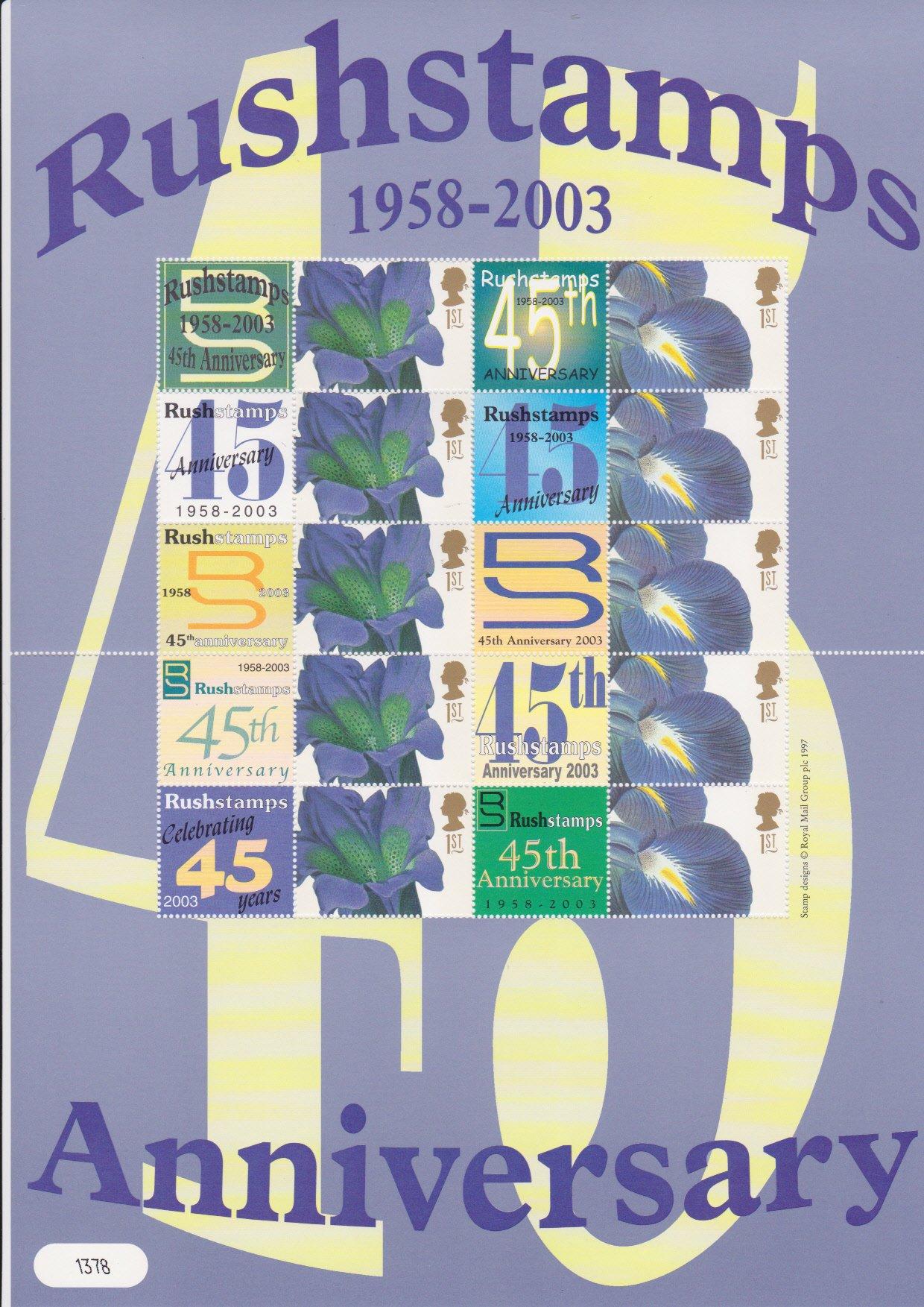 Smilers Sheet BC-012 Rushstamps