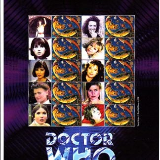Smilers Sheet BC-025 Dr Who