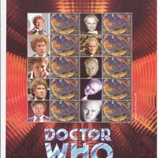 Smilers Sheet BC-045 Dr Who Sixth Issue