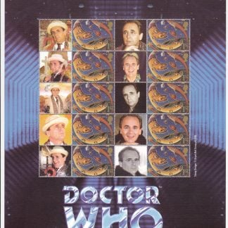 Smilers Sheet BC-046 Dr Who Seventh Issue