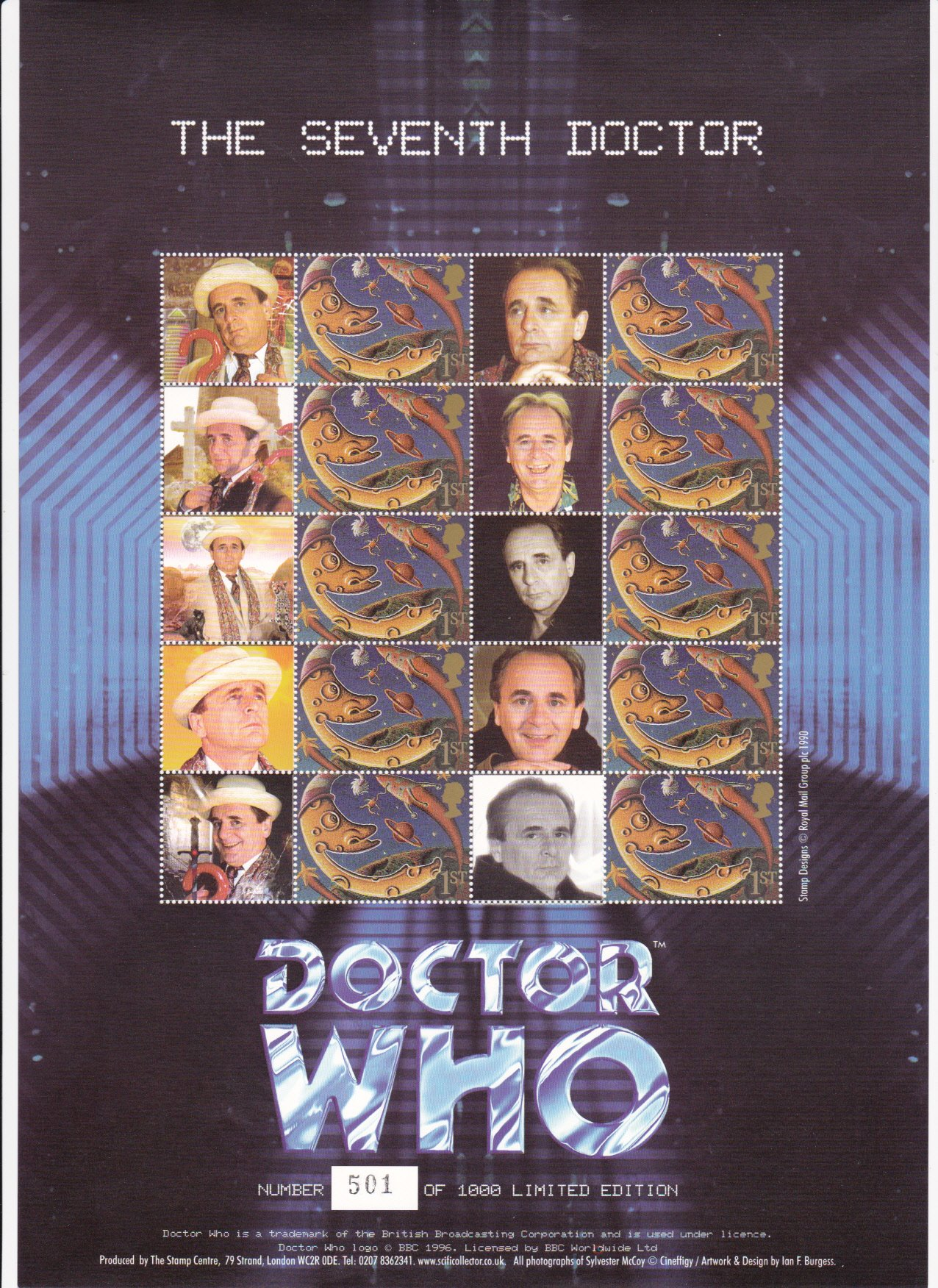 Smilers Sheet BC-046 Dr Who