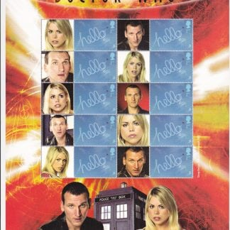 Smilers Sheet BC-058 Dr Who Ninth Issue