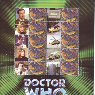 Smilers Sheet BC-057 Dr Who Eighth Issue