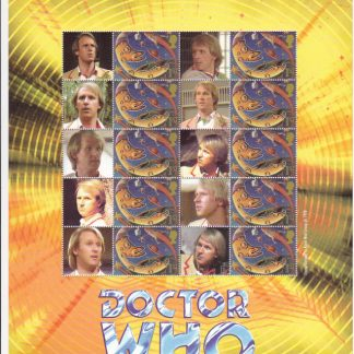 Smilers Sheet BC-061 Dr Who Eleventh Issue