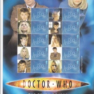 Smilers Sheet BC-088 Dr Who Twelfth Issue