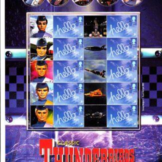 Smilers Sheet BC-021 Thunderbirds