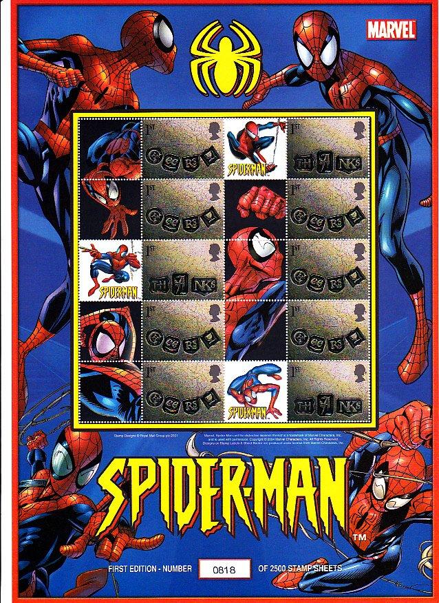 Smilers Sheet BC-030 Spiderman
