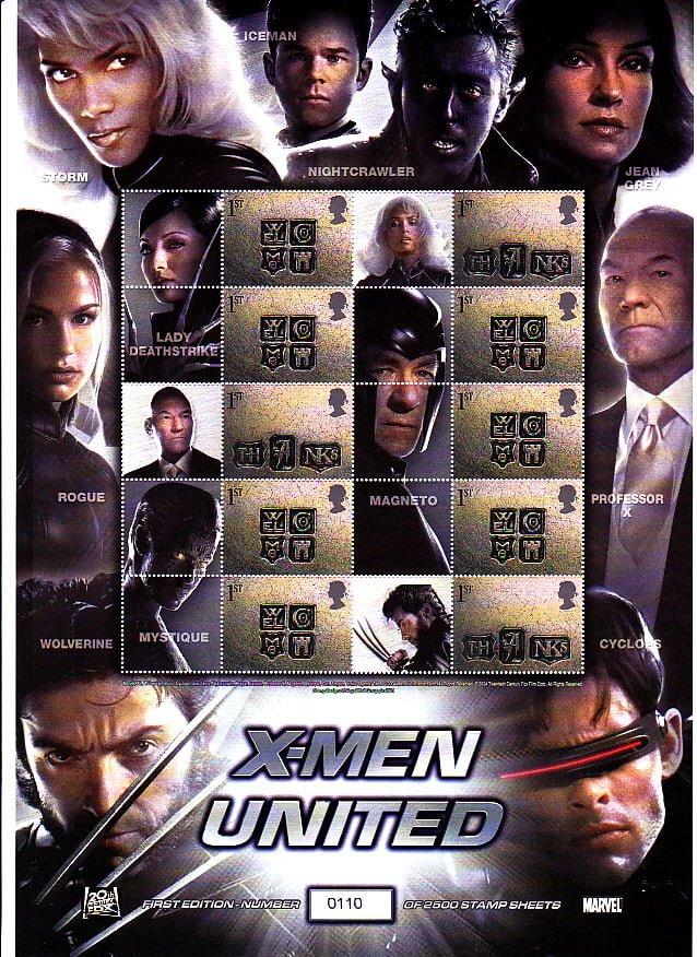 Smilers Sheet BC-033 X-Men United