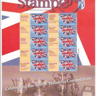 Smilers Sheet BC-039 Stampex London 2004