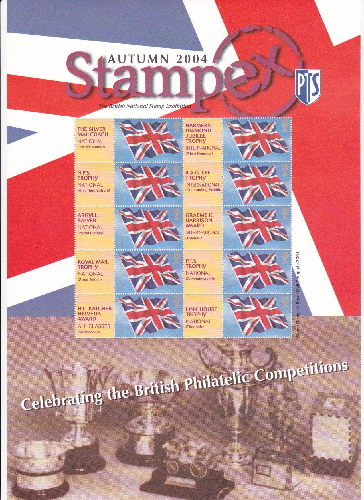 Smilers Sheet BC-039 Stampex 2004
