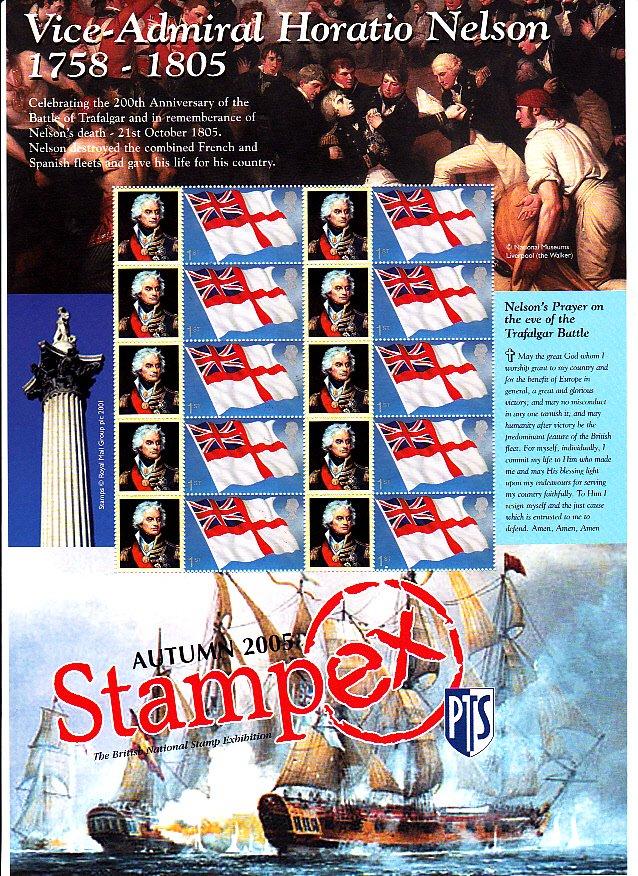Smilers Sheet BC-070 Stampex 2005