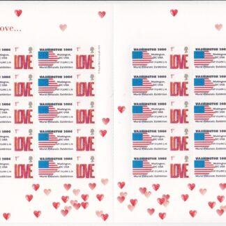 Smilers Sheet TS-047 Washington Expo