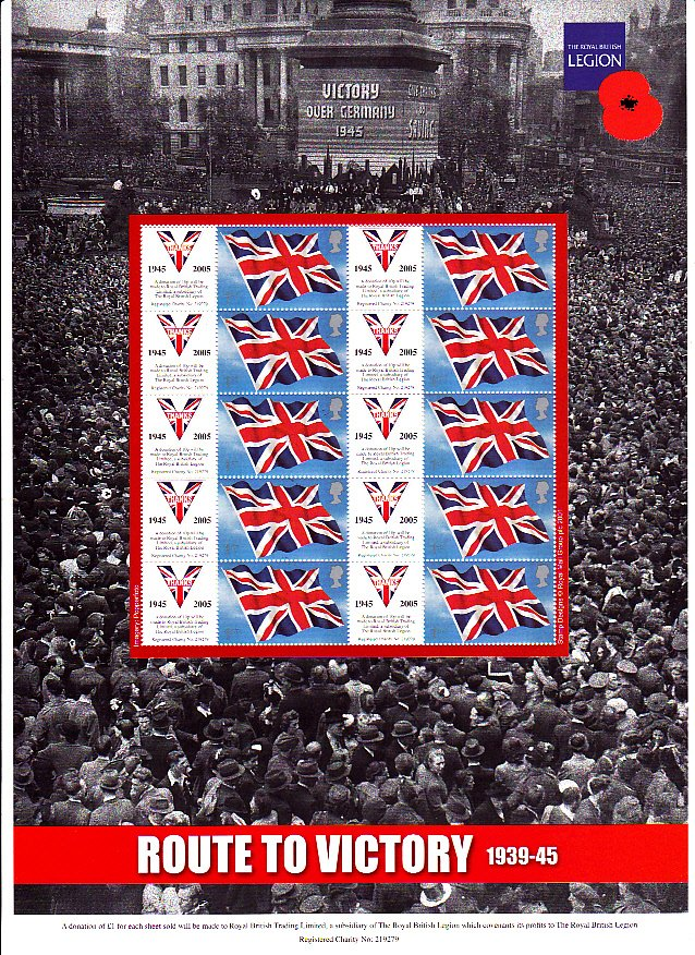 Smilers Sheet BC-055 Royal British Legion