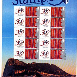 Smilers Sheet BC-018 Stampex London 2004