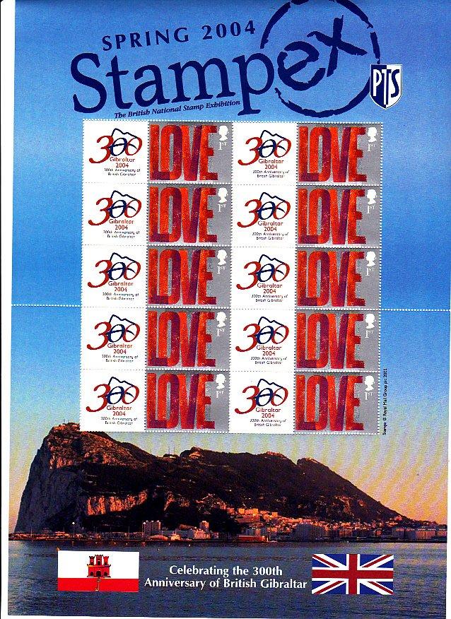 Smilers Sheet BC-018 Stampex 2004