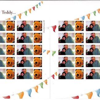 Personalised Smilers CS-026d Ready Teddy