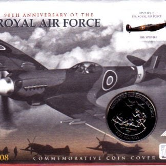 RAF First Day Cover and Guernsey coin
