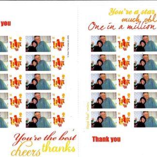 Personalised Smilers CS-030b Thank you