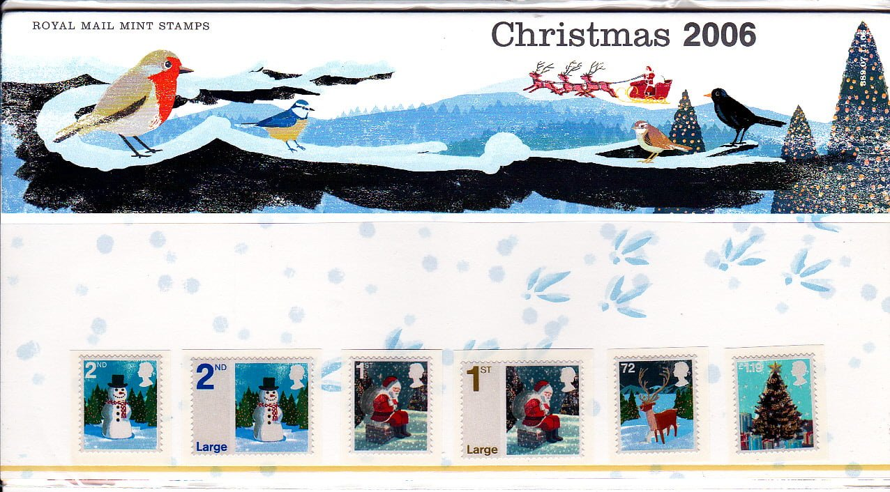 Presentation Pack Christmas 2006