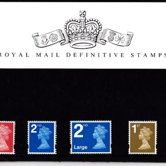 Presentation Pack No 74 Machin Definitives