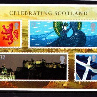 Miniature Sheet MS S153 Scotland